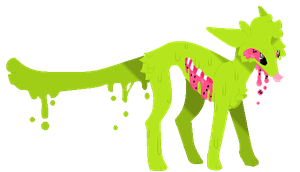 Watermelon Dog by T0SHII