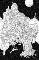 Invincible cover 39 by RyanOttley