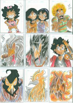 Sketch cards 5 by Jey09