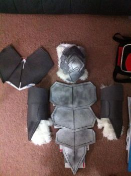 Volibear Cosplay WIP 2 by Protoxslasher