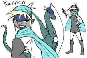 Kannon The Ice Dragon by R2ninjaturtle