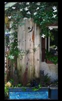 old door stock by rustymermaid-stock