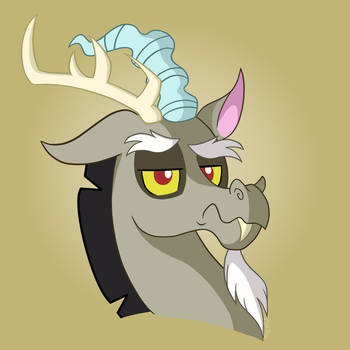 Disappointed Discord by Pink-Pone
