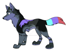 :Wolf Adopt:7:CLOSED: by NightmareAdoptables