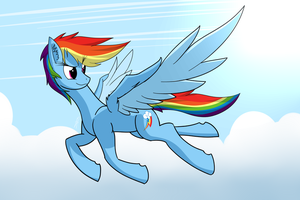 Rainbow 'McBestpone' Dash by DJP15