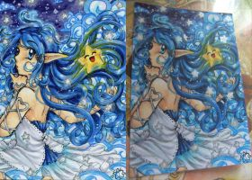 ACEO Commish - Aluna and Aila by ICanReachTheStars
