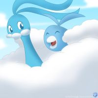 30 Day Challenge - 15th Day - Swablu and Altaria by himehisagi