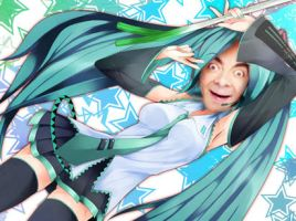 If mr bean were a vocaloid... by sora507