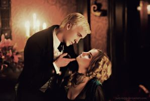 Hermione and Draco by JudyDepp