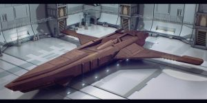 Star Wars Trade Federation Fast Dropship by AdamKop