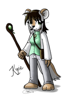 Commission - Kyrie by Zaron