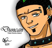 Total Drama Hustlaz: Duncan by blwhere