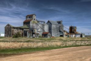 Old Grain Mill by CMiner1