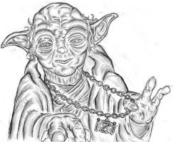 Gangsta Yoda by B2oda