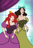 The evil stepsisters get mim-ified! by mistersnow