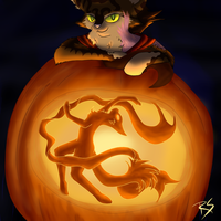 Jensen's Pumpkin by Riveriia