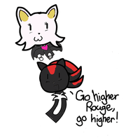 Fly Rouge Fly by ninacat309