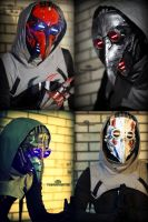The Eternal Plague - Cyber plague doctor masks by TwoHornsUnited