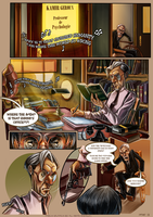 Monsieur Charlatan Page 13 by DrSlug