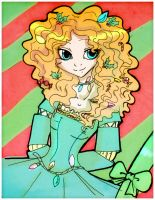 Merida-holiday- by Danielle-chan