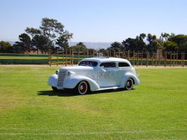 1937 Chevy chopped top hot rod by Partywave