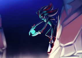 Shadow - Chaos Control by Rampage-kun