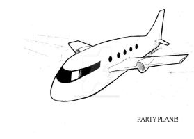 Party Plane by jebbeansrgood