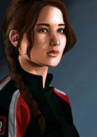 Katniss Everdeen by Xedotic