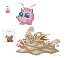 Pokemon Fusion Part 1 by magefeathers