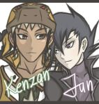 YGO GX: Jun and Kenzan request by xJohan