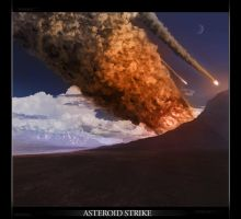 Asteroid Strike. by chris1990