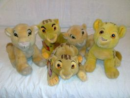 Lion King Simbas and Nalas by Frieda15