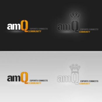 Logo 1 - amQ Community by uniQsDesigns