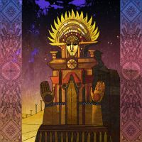 Temple of the Sun by yanadhyana
