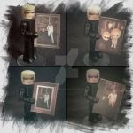 Albert Wesker Minimate (portrait 4 version's) by AlbertWeskerG