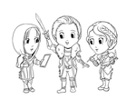 Inquisition advisors chibi by kateh-arts