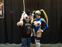 NOCC 2014: Notorious Q.B. + Rainbow Mika by vicevirtuoso