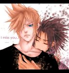 cloudXzack i miss you zack by AikaXx