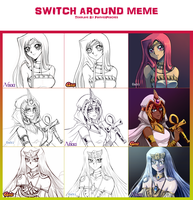 YGO Switch Around Meme of AWESOMENESS by GisLt