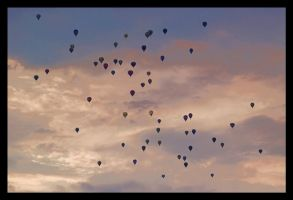 Hot Air Balloons II by kiebitz