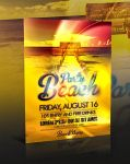 PSD Beach Party Flyer by retinathemes