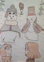 Professors and Snowmen by TheGoodEnchantress22