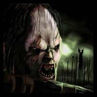 Lord of the Rings - Lurtz by highdarktemplar