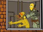Simpsonesque Stalker Wallpaper by Derwen