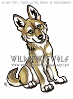 Copic Wolf Cub Logo by WildSpiritWolf