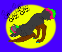 Bree bree :.commission.: by Rubylockheartwolf