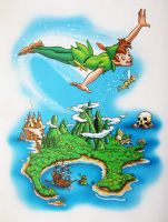 Peter Pan by stlcrazy