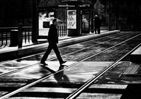 contre les rails by cahilus