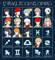 RE:V - Zodiac Bingo by Astre-Thief
