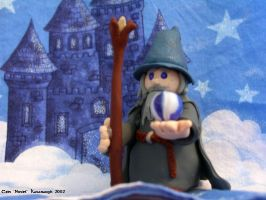 Gandalf the Clay by Noviel